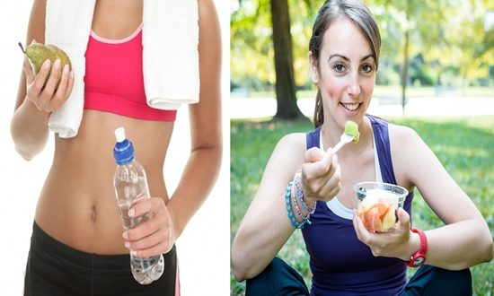 food allowed before and after exercises