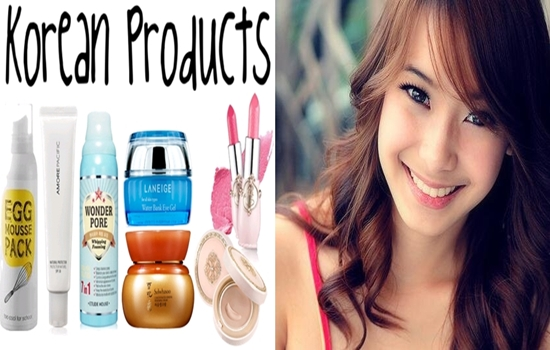 korean cosmetic products