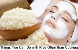 Things You Can Do with Rice Other than Cooking
