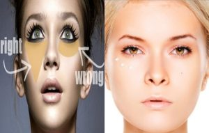 techniques of applying concealer