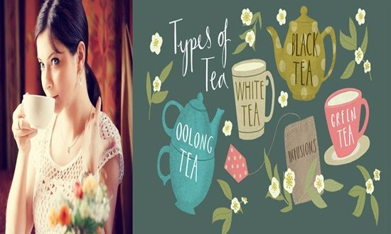 4 Different Types of Tea for your health
