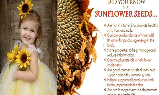 Amazing benefits of Sunflower seeds
