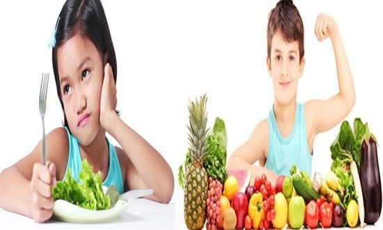 How to make your kids eat healthy food
