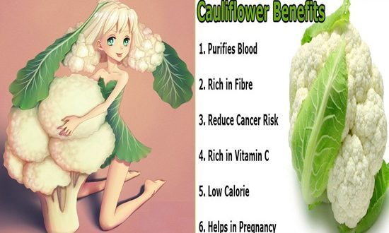 Wonderful Benefits of Cauliflower that you didn't know about!