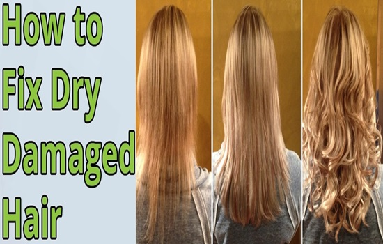How To Fix Dry Damaged Hair