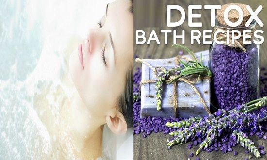 4 Detox Baths That Will Make You Feel Better