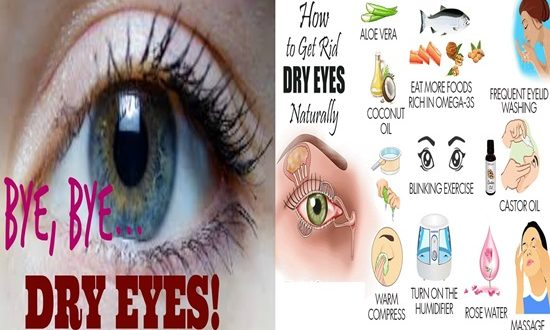 5 Natural Ways To Relieve Dry Eyes
