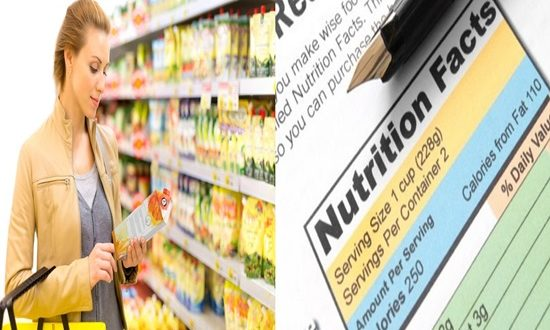 FDA's New Food Labels, facts you have to know