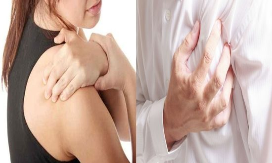 Heart diseases linked to shoulder pain