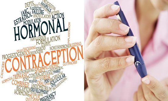 Hormonal contraception is a safer option for diabetic women