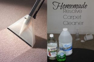 4 Homemade Carpet Cleaners