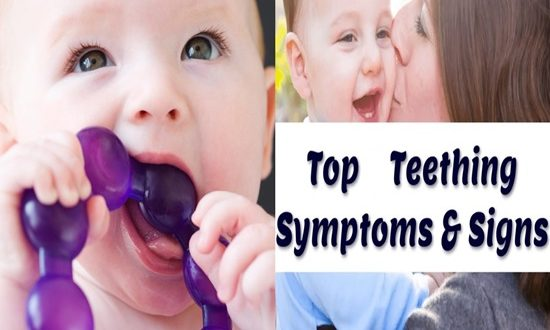 4 Signs Your Baby is Teething