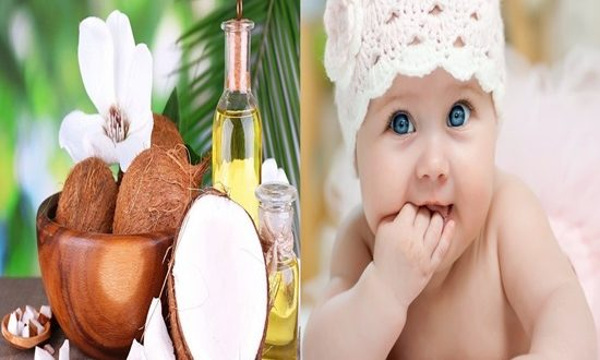 5 Miraculous Uses of Coconut Oil For Babies