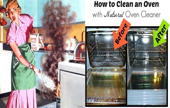 5 Natural Ways To Clean The Oven