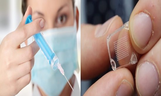 Adequacy of influenza vaccines enhanced by microneedle patch