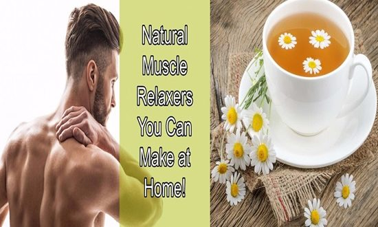 The Best 4 Natural Muscle Relaxers