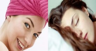 Why You Should Never Sleep With Wet Hair