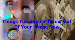 Things You Should Throw Out Of Your House Now