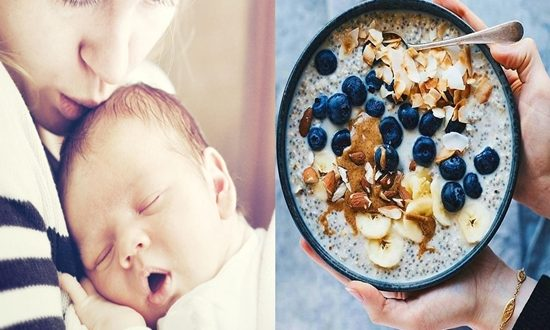 Foods New Mommies of Newborns Should Eat