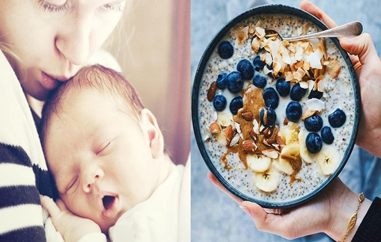 Top 6 Foods New Mommies of Newborns Should Eat