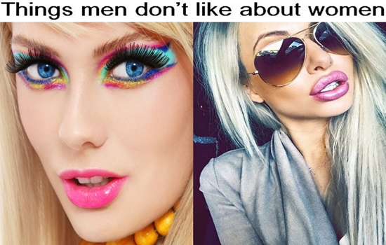 things men don't like about your appearance