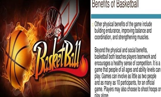 Benefits of Playing Basketball