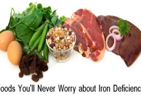 With These Foods You'll Never Worry about Iron Deficiency