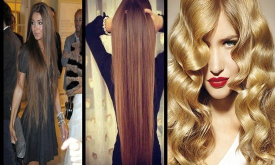 Long hair styling tips