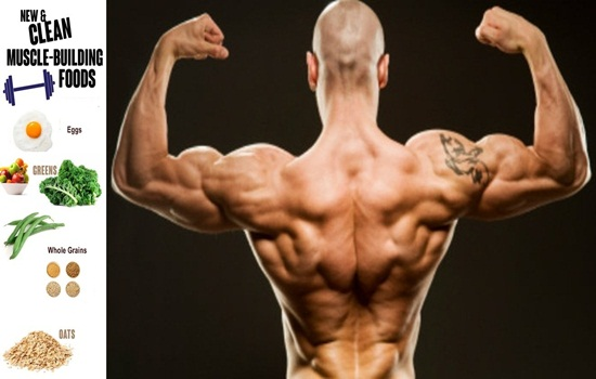 Tips to build muscles faster by food