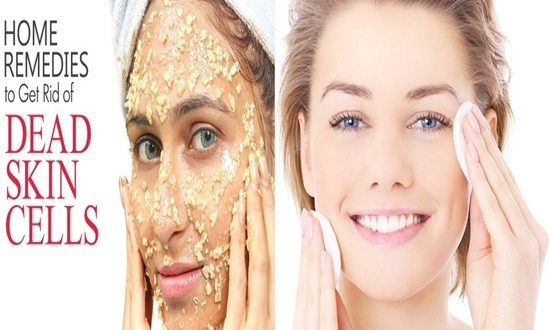 Tips to get rid of dead skin at home