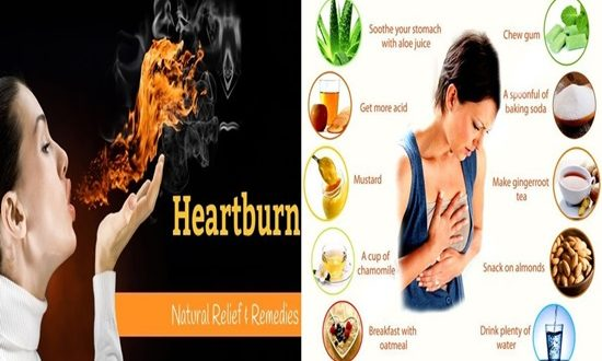 5 Natural Ways to Get Rid of Heartburn