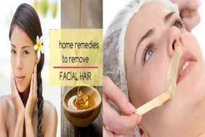 Natural Remedies For Facial Hair Removal