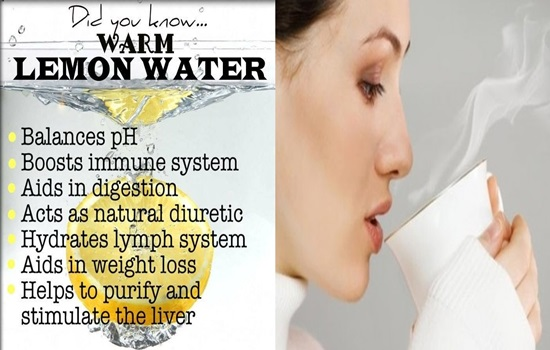 5 Health Benefits of Drinking Warm Lemon Water In The Morning
