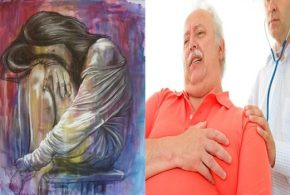 Depression negatively affects the heart as obesity and heart diseases