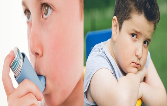 Kids with asthma might be more prone to obesity