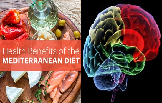 Mediterranean Diet benefits Your Brain