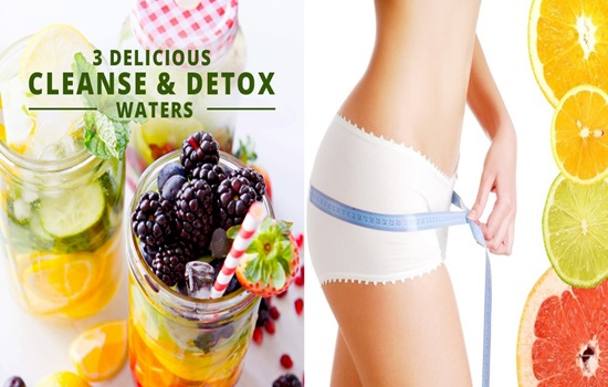 Top 3 Detox Water Recipes For Weight Loss