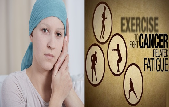 Cancer related exhaustion Exercise, mental treatments best medicines