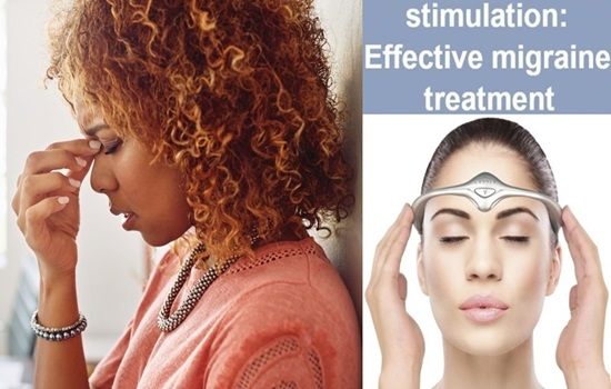 New electrical stimulation patch can treat migraines
