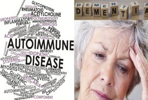 What's the connection between dementia and autoimmune conditions?