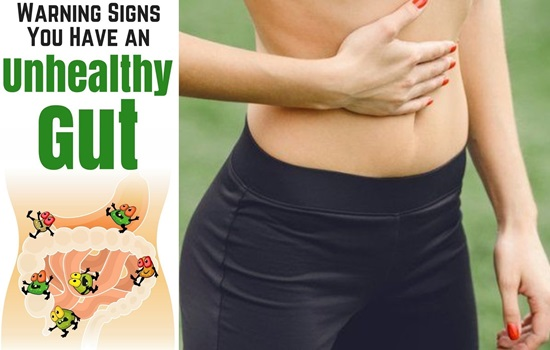 4 Clear Signs You Have Unhealthy Gut