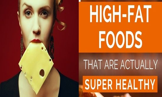 4 High-Fat Foods That Are Incredibly Healthy