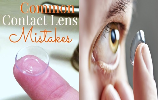 5 Common Mistakes Contact Lenses Wearers Make
