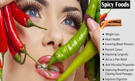 5 Reasons Why Spicy Food is Good For You
