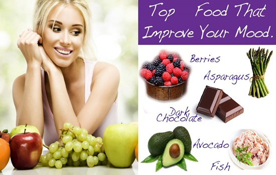 5 Top Foods To Boost Your Mood