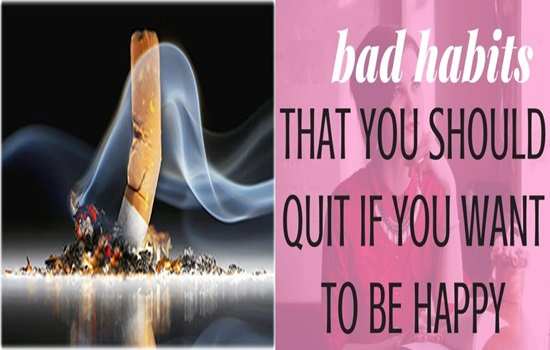 6 Bad Habits You Need to Quit Now