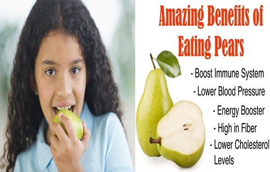 6 Ways Pears Are Good For Your Health