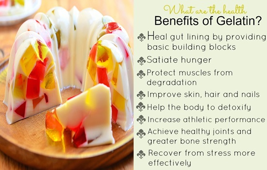 7 Reasons Why Gelatin is Good For Your Health