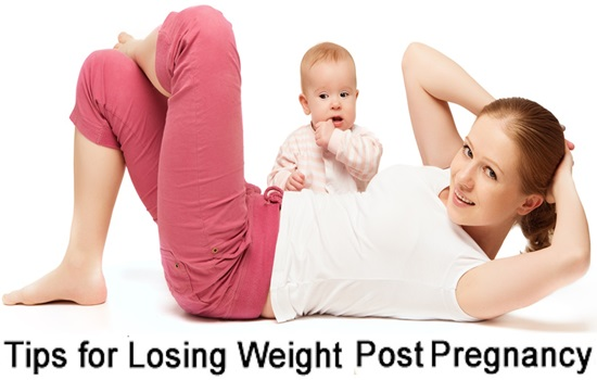 Best 5 Tips To Lose Weight Post Pregnancy