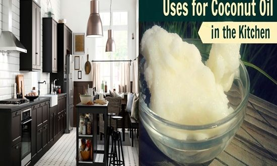6 Brilliant Ways To Use Coconut oil in The Kitchen